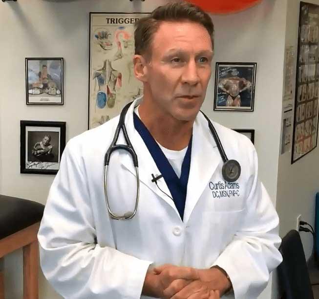dr. Adams dallas chiropractor